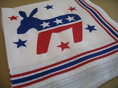 democratic caucus napkins