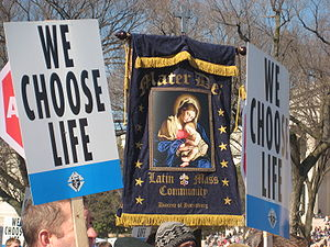 2009 March For Life in Washington, DC), photo ...