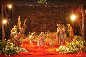 Nativity scene (2008), Church of Our Lady and ...