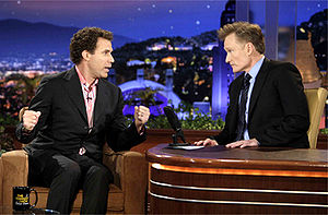 Will Ferrell and Conan O'Brien