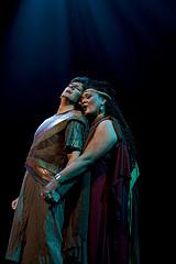Radames & Aïda in Act III of Aïda