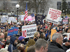 Tea Party rally to stop the 2010 health care r...