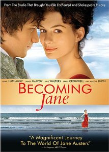 """Cover of """"Becoming Jane"""""""