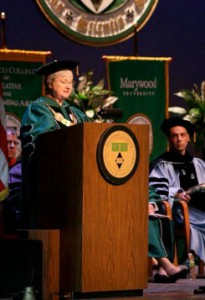 Convocation 2010 at Marywood