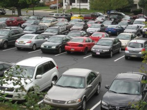 Nazareth Parking Lot